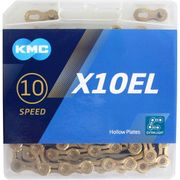 Kmc ketting 10-speed x10el 114 links ti-n goud