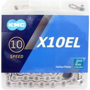 Kmc ketting 10-speed x10el 114 links zilver