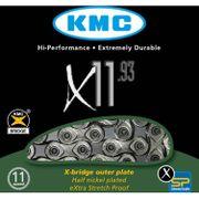 KMC kettingX11-93 NP zilver