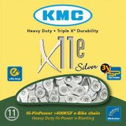 KMC kettingX11E e-bike zilver