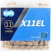 Kmc ketting 11-speed x11el 118 links ti-n goud