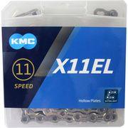 Kmc ketting 11-speed x11el 118 links zilver