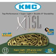 Kmc ketting 11/128 x11sl 114l goud 11speed superli