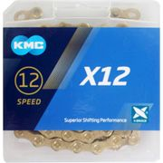 Kmc ketting 12-speed x12 ti-n 126 links goud