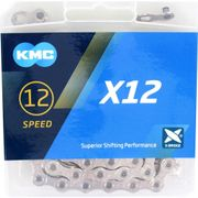 Kmc ketting 12-speed x12 126 links zilver