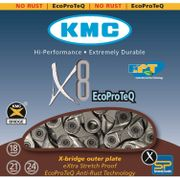Kmc ketting 11/128 x8 ept anti roest 116