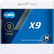 Kmc ketting 9-speed x9 ti-n 114 links goud