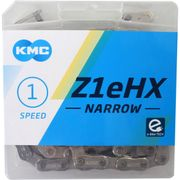 KMC kettingZ1eHX 3/32 narrow silver 112s