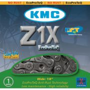 Kmc ketting 1/2 x 1/8 z1x singlespeed ept anti roe