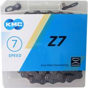 Kmc ketting 7-speed z7 114 links grijs/bruin