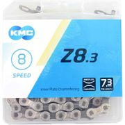 Kmc ketting 8-speed z8 114 links zilver/grijs7,3mm