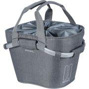 Fietsmand Basil 2day Carry All 15 liter - grijs