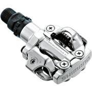 Pedaalset SPD M520 Met Plaatjes SM-SH51 - zilver