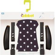 Qibbel stylingset v Polka Dot zwart