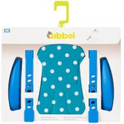 Qibbel stylingsset voorzitje Polka dot blauw
