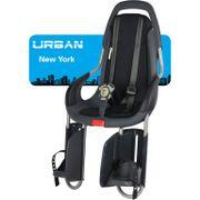 Qibbel achterzitje Urban New York draber zwart