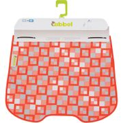 Windscherm Qibbel stylingset checked red