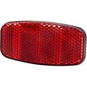 Achterdrager reflector Spanninga ovaal - rood