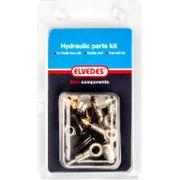 Hydraulische onderdelen Kit 4 M8 + M6 RVS voor