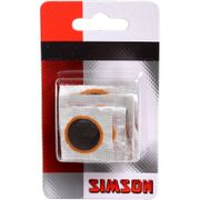 Simson reparatie plakkers assortiment 16/25/33mm/o