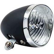 Simson koplamp voor classic batterij black