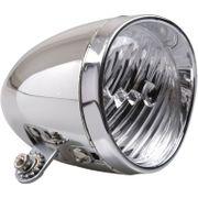 Simson koplamp voor classic batterij chroom
