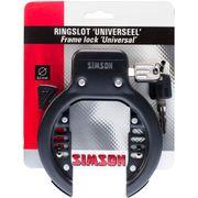 Simson ringslot universeel 8.5mm zwart
