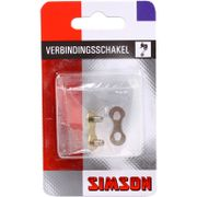 "Simson kettingschakel 5/6/7/8 speed maat 3/32"" zil"