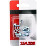 Simson spatbord boutjes M5x12 (5)