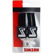 Simson snelbinder kort zwart