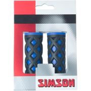 Simson handvat kinder comfort kobalt/zwart