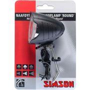 Simson koplamp voor round led dynamo voorvork 7 lu
