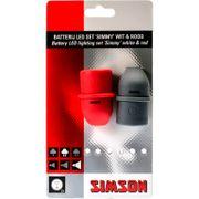 Simson verlichtingset simmy led batterij bevestigi