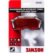 Simson achterlicht tunnel led batterij drager