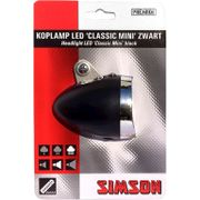 Simson koplamp voor classic mini led batterij voor