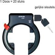 Slot ring solid xl zwart gelijksluitend wp(20)