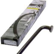 spaak 13-286 RVS z/nippel zwart