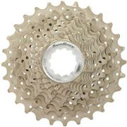 Cassette 10 speed 11-28t. metallic - alloy spider
