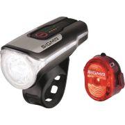 Sigma lampset aura 80 usb led 80 lux + nugget ii a