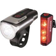 Sigma lampset aura 80 usb led 80 lux + blaze power