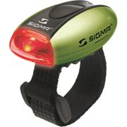 Sigma achterlicht Micro batterij groen