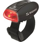 Sigma achterlamp micro zwart led rood
