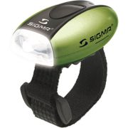 Sigma voorlamp micro wit led groen
