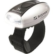 Sigma voorlamp micro wit led silver