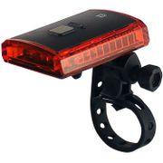 Lamp a led un-110 zwart 3 led rood usb oplaadbaar