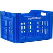 Urban Proof fietskrat 30 liter blauw