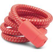 Urban Proof kabelslot braided 15mm 150cm Kreeft rood