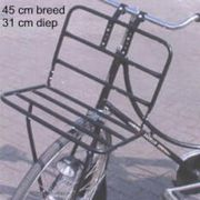 Drager v transport breed 26-28 inch 45x30cm zwart