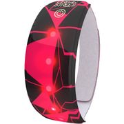 Wowow Lightband Urban roze WRM XL Rode LED