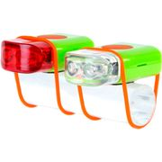 Lamp v+a light 2 led stripties groen